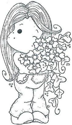 Magnolia Stamps Tilda, Magnolia Stimplar, Magnolia Gorjuss, Tilda Stamps,  Magnolia Images, 297 510, Gorjuss Digital Stamps, Cards Magnolia Coloring,  ...