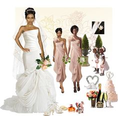 """Wedding Theme 10"" by ms-lj on Polyvore"