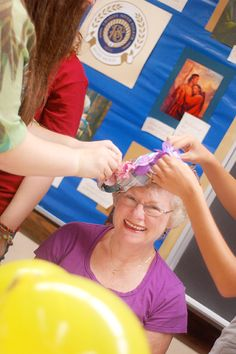 Secret Grandmothers Activity - great way for the YW to reach out to our elderly sisters