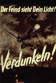 Немецкий плакат времен ВМВ