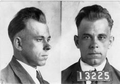 John Dillinger Mug Shot | John Dillinger's mug shots. On Dec. 12, 2009, Heritage Auctions held ...