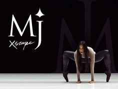 Typographic MJ Dance :) by INKOD HYPERA Ltd.