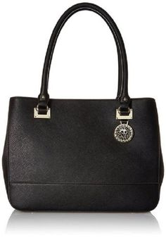 """Anne Klein """"new Recruits"""" Large In Black Satchel. Save 39% on the Anne Klein """"new Recruits"""" Large In Black Satchel! This satchel is a top 10 member favorite on Tradesy. See how much you can save"""