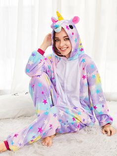 Love Unicorn, Love Animal Onesie, Love Cosy Style Pajamas, We have Styles Aniaml Onesies for Adults & Kids & Babies. Unicorn Fashion, Unicorn Outfit, Unicorn Clothes, Unicorn Costume, Unicorn Onesie Kids, Pj Onesies, Night Suit For Girl, Onesie Costumes, Girl Outfits