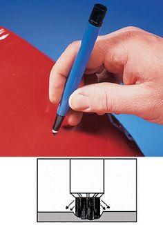 Fiberglass Rust Brush Detail Prep & Cleaning Tool