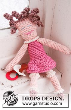 """The dolls """"Peter"""" and """"Pernille"""" ~ DROPS Design"""