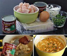 PANELATERAPIA - Blog de Culinária, Gastronomia e Receitas: Pot Pie de Frango
