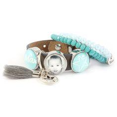 Persoonlijke armband met fotobedel   Gewoon! Sieraden
