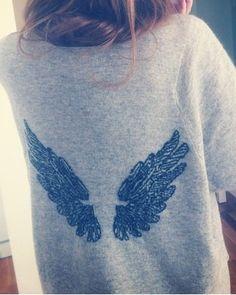 Angel wing sweatshirt #piphi #pibetaphi