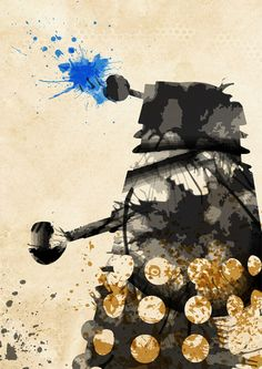 I do not like Dr. Who but i do like this watercolor dalek and think a Studio Ghibli watercolor tattoo who be awesome!