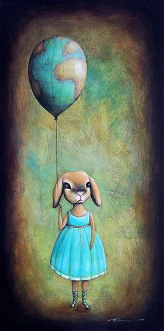 It's a big world up there   -  Santie Cronje
