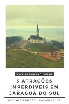 Confira aqui 3 atrações imperdíveis em Jaraguá do Sul, Santa Catarina. Esta cidade encantadora fica no Vale Europeu catarinense e tenho certeza de que irás querer conhecer estas atrações.