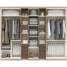 Kast indeling walk through closet Wardrobe Organisation, Wardrobe Storage, Wardrobe Doors, Wardrobe Closet, Built In Wardrobe, Closet Space, Walk In Closet, Walk Through Closet, Bedroom Organization
