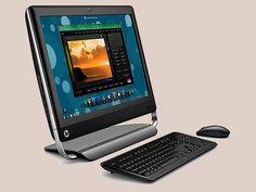 Computador All-in-One TouchSmart 420 da HP