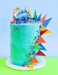 Dinosaur Cakes For Boys, Dinosaur Birthday Cakes, Dinosaur Party, The Good Dinosaur Cake, Dino Cake, Dinosaur Cupcake Cake, Dinosaur Cake Toppers, 3rd Birthday Parties, 4th Birthday Cakes For Boys