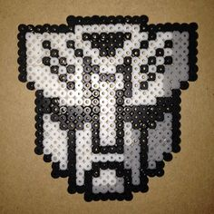 Transformers Autobot perler beads by shineyee427