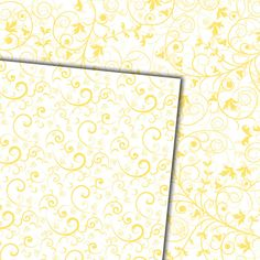 Download Digital Paper Pack Damask & Swirls Buttermilk on White Online | Gidget Designs