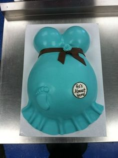 Cake....love the little foot print
