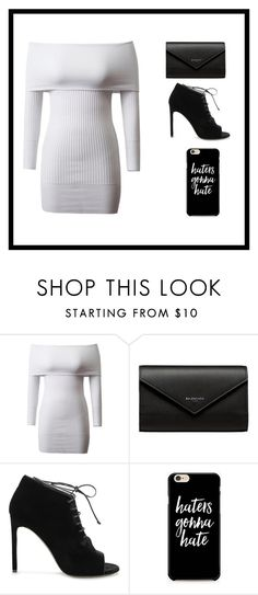 """""""plain and simple"""" by maddyb202 ❤ liked on Polyvore featuring Balenciaga and Yves Saint Laurent"""