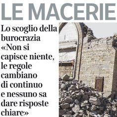Perugia, 20 giugno 2017. Macerie dimenticate (CorSera) a un anno dal sisma, Claudio Ricci: più velocità per realizzare le casette, più risorse certe, meno burocrazia . I Consigli delle 4 Regioni si incontrino (il 24 agosto ad Amatrice) per solleciare il Governo.