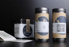 Tea of Buddhist Monk Identity and Packaging 大仕茶亭茶包装 on Behance