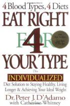 Eat Right 4 Your Type: The Individualized Diet Solution to Staying Healthy, Living Longer & Achieving Your Ideal Weight  By Peter J. D'Adamo