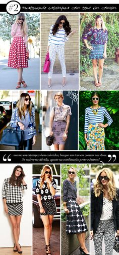 Misturando estampas e padronagens - Estilo Meu / mix de estampas / crash stamp / patterns / padronagens e estampas / consultoria de imagem / personal stylist / fashion tips / dicas de moda / styling