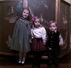 From Princess Madeleine's Facebook: Cousins at Christmas Lunch at the Palace.