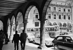 Plaza Dean Mazas y su antigua parada de autobuses. http://on.fb.me/1pL2kay