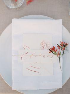 Romantic Seaside Wedding | Wedding Ideas | Oncewed.com