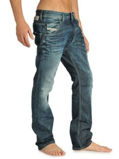 Diesel Jeans - faded is better on some than others, be picky.