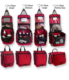 LL Bean travel organizers