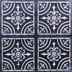 "Decorative Plastic Ceiling Tiles Enchanting Celtic Fantasy  Faux Tin Ceiling Tile  Glue Up  24""x24""  #101 Design Ideas"
