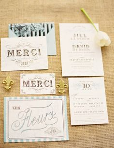 17 Fabulously Chic French Wedding Ideas via Brit + Co.