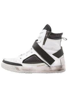 #Candice #Cooper #Sneaker #high #bianco/nero für #Herren -