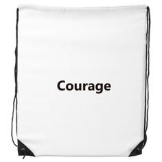 Courage Word Inspirational Quote Sayings Drawstring Backpack Fine Lines Shopping Creative Handbag Gift Shoulder Environmental Polyester Bag #Backpack #Quote #Sports #Inspirational #DrawstringBackpack #Words #TravelBackpack #Sayings #PrintingBackpack #BackpackMen #Tote #Fashion #TravelBags