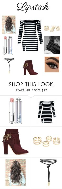 """""""Untitled #152"""" by allyirwin02 ❤ liked on Polyvore featuring beauty, Christian Dior and Aquazzura"""
