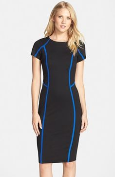 FELICITY COCO Seamed Pencil Dress (Nordstrom Exclusive) NOW 25% OFF