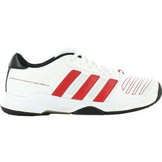 info for 220cd 71ea9 Adidas Court Stabil 2 XJ (Juniors) in white and red
