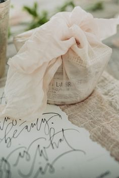 Wedding Favors / Elegantly Knotted