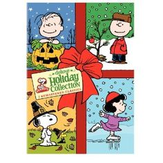 Peanuts Holiday Collection Deluxe Edition (It's the Great Pumpkin, Charlie Brown / A Charlie Brown Thanksgiving / A Charlie Brown Christmas)