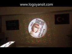 Logo Yansıt dış ortam bayan kuaförü Dönen Logo Uygulama Videosu - YouTube