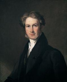 "Thomas Sully (1783-1872), ""Portrait of Levi Fletcher"" - Morris Museum of Art ~ Augusta, Georgia, USA"