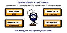 QUEST OFFERINGS MENU :http://www.stringquest.com/quest-offerings-menu/