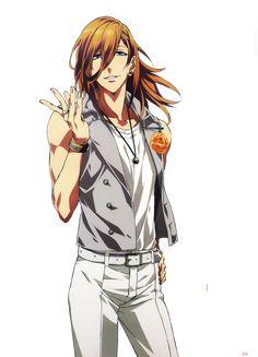 Jinguji Ren - Uta no☆prince-sama♪ - Mobile Wallpaper - Zerochan Anime Image Board Jinguji Ren, Hot Anime Boy, Anime Boys, Boys Long Hairstyles, Uta No Prince Sama, Shall We Date, Bishounen, Handsome Anime, My Prince
