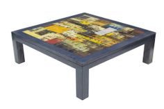 GALLERY COFFEE TABLE - SQUARE (ABSTRACT)  $390.00