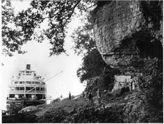 From the Inland Rivers Photograph Collection: Delta Queen.