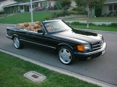 Mercedes-Benz 560 SEC Cabriolet W126 |BENZTUNING