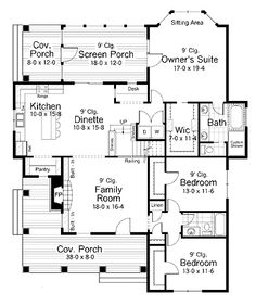 1000 images about floor plans on pinterest floor plans for House plans with kitchen sink window