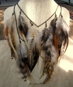Hey, I found this really awesome Etsy listing at http://www.etsy.com/listing/103702368/feather-necklace-natural-brown-feather